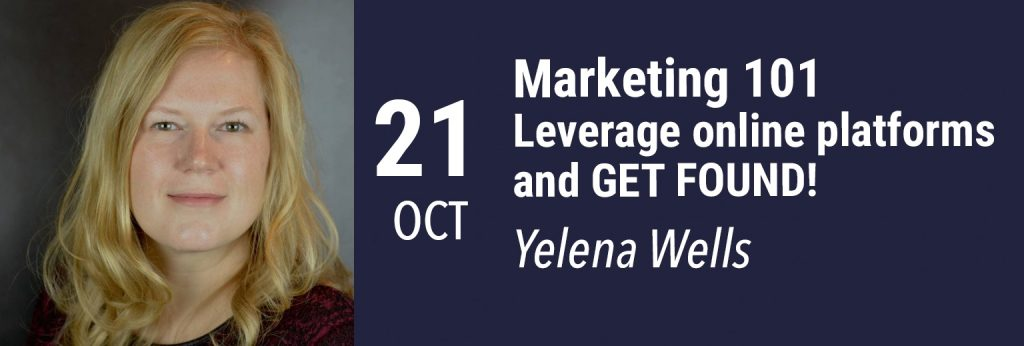 Yelena Wells marketing webinar